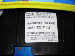 ExerSaucer Triple Fun Label