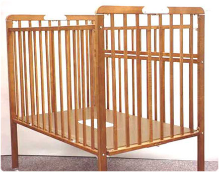 Superieur Department And Baby Products Stores Nationwide Sold These Portable Wood  Cribs From January 1991 Through December 2002 For About $99.